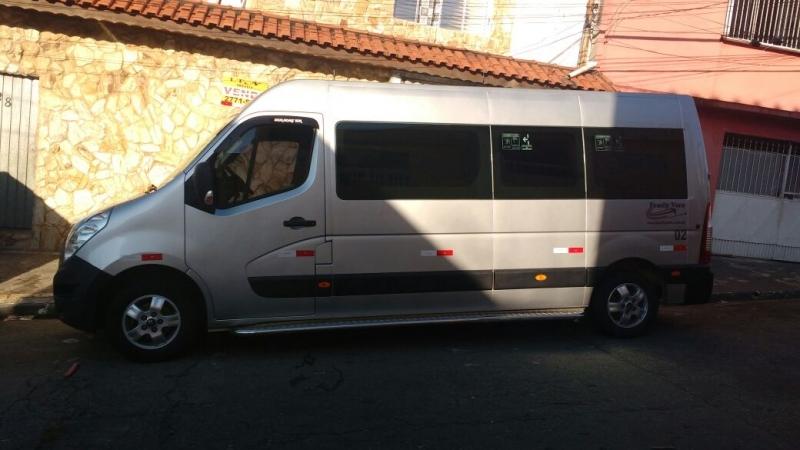 Aluguel de Van para Transporte em Sp Cidade Ademar - Aluguel de Van para Transporte