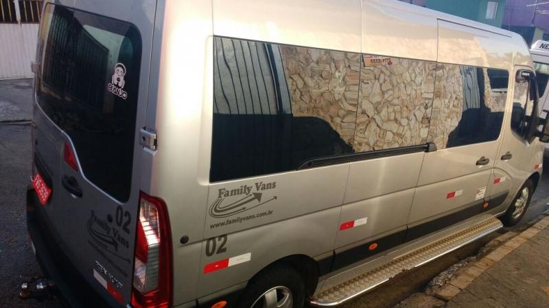 Empresa de Locação de Van para Viagem Sapopemba - Aluguel de Vans para Viajar