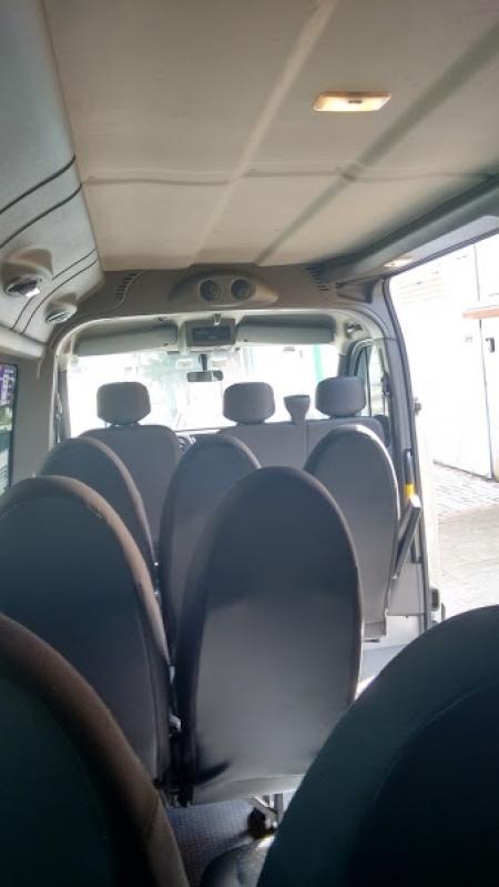 Empresa de Locação de Van para Viajar ao Litoral Vila Romana - Aluguel de Vans para Viajar