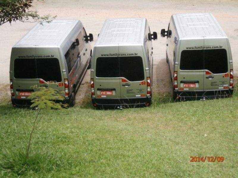 Empresa de Transporte com Vans para Empresas Belém - Transporte de Vans Executivo