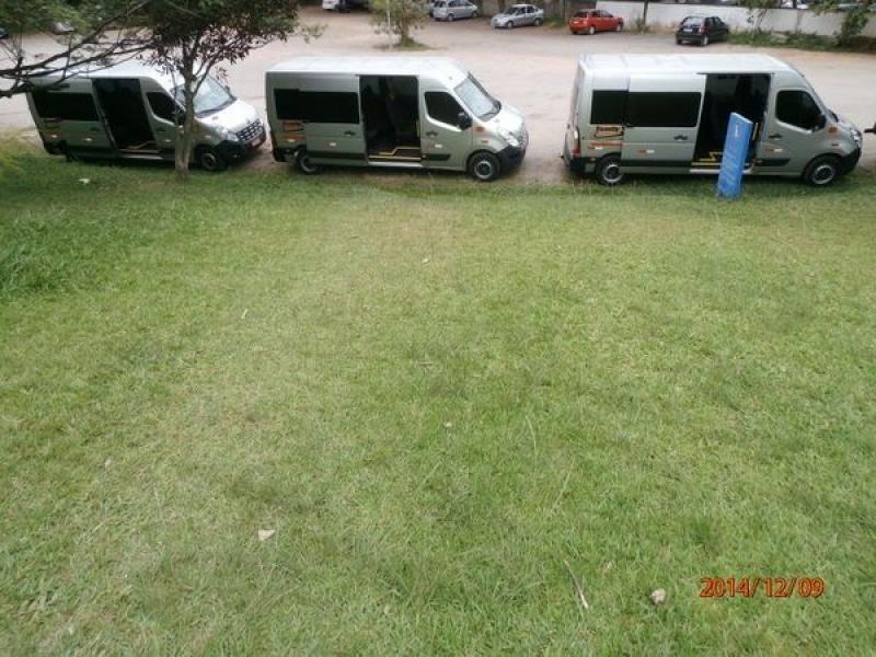 Empresa de Transporte com Vans para Turismo Penha - Transporte de Vans Executivo