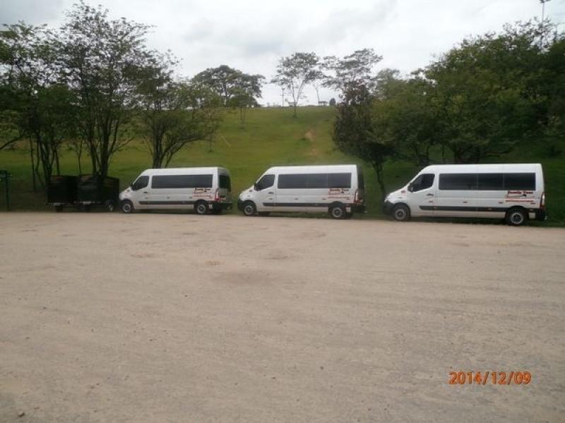 Empresas de Transporte com Vans Ponte Rasa - Transporte de Vans Executivo