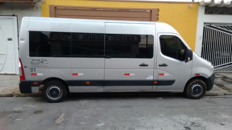 Quanto Custa Aluguel de Van para Bertioga Santana - Aluguel de Vans para Viajar