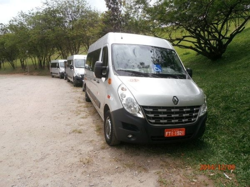 Quanto Custa Transporte de Passageiros com Vans Campo Limpo - Transporte de Vans Executivo