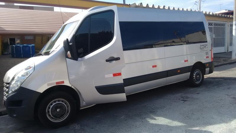 Quanto Custa Van para Transporte República - Aluguel de Van para Transporte