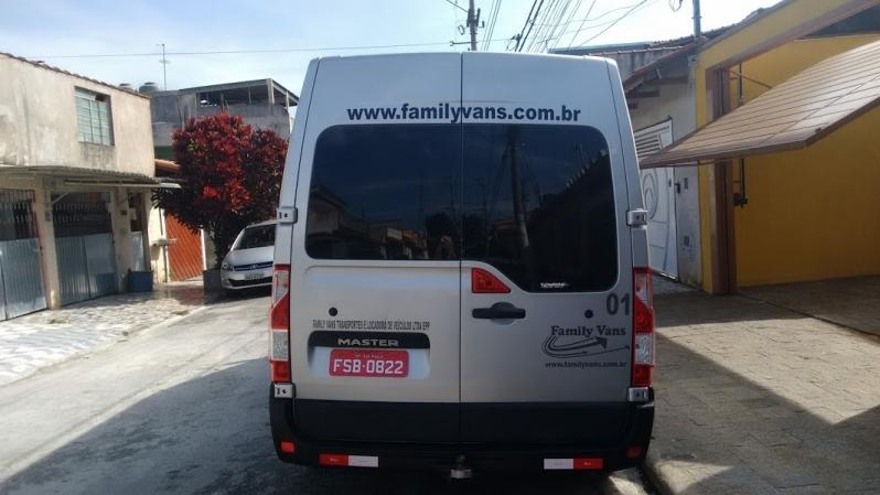 Serviço de Van para Transporte Cursino - Aluguel de Van para Transporte