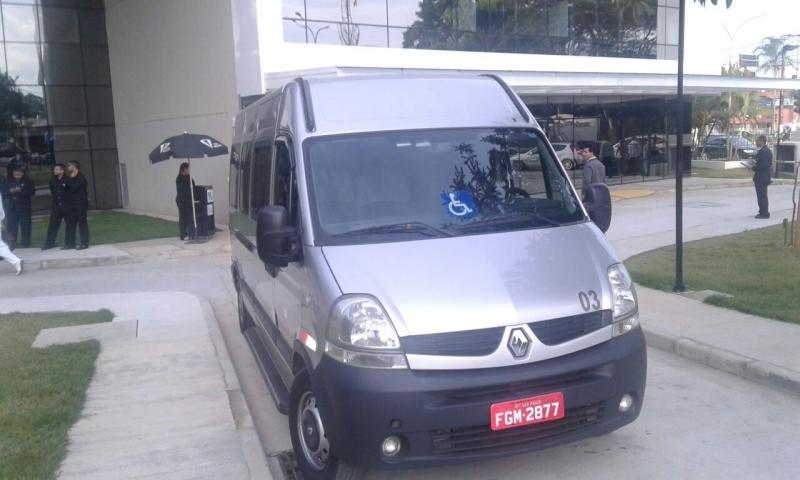 Serviço de Vans para Grupo de Passageiros Tatuapé - Aluguel de Van para Transporte