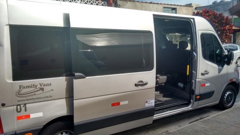 Serviço de Vans para Transporte de Pessoas Pinheiros - Aluguel de Van para Transporte