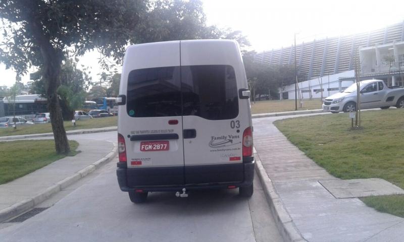 Serviço de Vans para Transporte para Eventos Santa Cecília - Aluguel de Van para Transporte