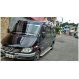 alugar van com motorista para viagem Jabaquara