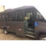 aluguel de micro-ônibus com motorista para excursão Santo Amaro