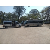 aluguel de transporte com vans Parque São Domingos