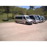 aluguel de van para transportes Consolação