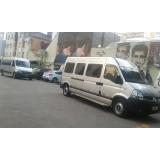 aluguel de vans com motorista preço Morumbi