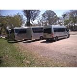 aluguel de vans para excursão empresa Campo Belo