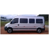 aluguel de vans para excursão Glicério