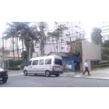 aluguel de vans para passeio preço Cidade Jardim