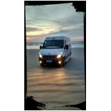 aluguel de vans para praia Santo Amaro