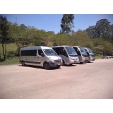aluguel de vans para transporte Cursino