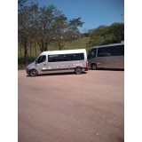 aluguel de vans para turismo Aricanduva