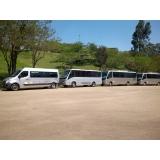 contratar transporte em van Vila Esperança