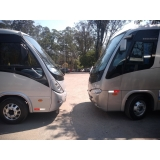 contratar van equipada para viagem Jaraguá