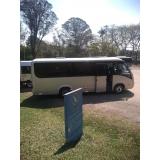 contratar van para viajar Campo Belo