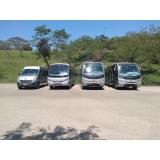 contratar vans para frete Parque Peruche