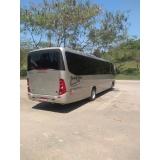 empresa com serviço de ônibus com motorista Parque Peruche