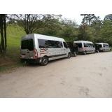 empresa de aluguel de vans para o litoral São Domingos
