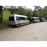 empresa de aluguel de vans para o litoral Jardim Guarapiranga