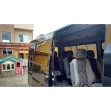 empresa de aluguel de vans para turismo Parque São Jorge