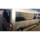 empresa de locação de van para viagem Pacaembu