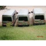 empresa de transporte com vans para empresas Engenheiro Goulart