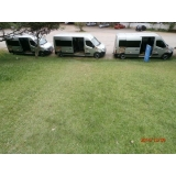 empresa de transporte com vans para turismo Santa Cecília