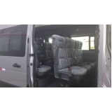 empresa de transporte de vans para praia grande Higienópolis