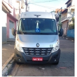 locação de vans de 18 lugares Vila Anastácio