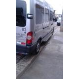 locação de vans com motorista