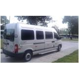 locação de vans para funcionários em sp Ibirapuera