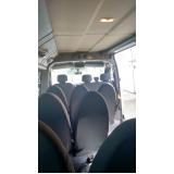 locação de vans para funcionários Tucuruvi
