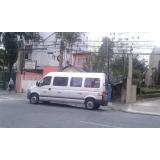 locação de vans para viagem longa distância Parque São Domingos