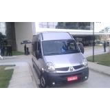 locações de vans para viagem de curta distância Vila Maria