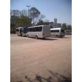 micro-ônibus fretamento Parque Peruche