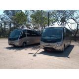onde contratar ônibus de excursão Jardim Ângela