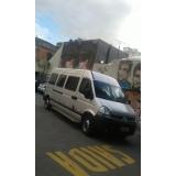 onde encontrar transporte de van para eventos sociais Parque São Jorge