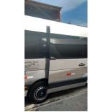 onde encontrar transporte de van para eventos Ibirapuera
