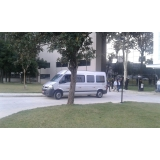 onde encontro transporte de van para eventos promocionais Parque Peruche
