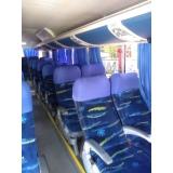 ônibus de fretamento Sacomã