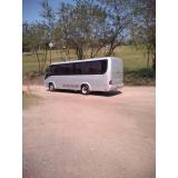 ônibus particular para passeio