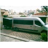 preço de locação de vans para o litoral Vila Clementino